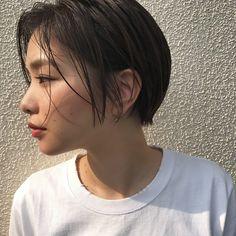 Asian Short Hair, Very Short Hair, Short Hair Cuts, Hair Inspo, Hair Inspiration, Nice Short Haircuts, Tomboy Hairstyles, Shot Hair Styles, Beautiful Haircuts