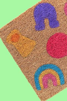 Lucky Charms Doormat DIY!
