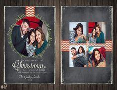 Chalkboard Wreath 2 Sided Photo by SweetTeaSpecialties on Etsy