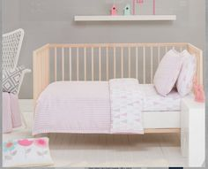 Lily Cot Quilt Cover Set