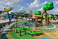 A new water park called Morgan's Inspiration Island was designed for people with a wide range of disability identities — and it's mind-blowingly accessible. The park, which opens June 17 in San Antonio, Texas, is fully wheelchair-accessible and hopes to welcome people with disabilities through careful consideration in design.