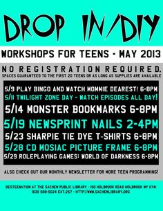 I like the disclaimer here about the first 20 teens - good for events where you're not sure you'll have enough supplies.