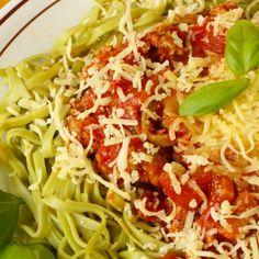 Spinach Tagliolini