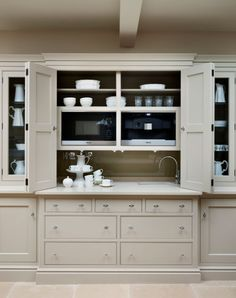 English Kitchen by Martin Moore. Change to appliance cupboard. X
