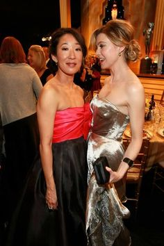 Ellen Pompeo & Sandra Oh the twisted sisters on Grey's anatomy