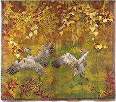 Art quilt by Karin Franzen