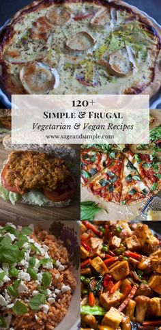 A collection of over 120 vegetarian & vegan recipes using mostly whole foods with an emphasis on simplicity and frugality. Vegetarian Platter, Vegetarian Recipes Easy, Veggie Recipes, Indian Food Recipes, Vegan Vegetarian, Whole Food Recipes, Healthy Recipes, Veggie Meals, Yummy Recipes