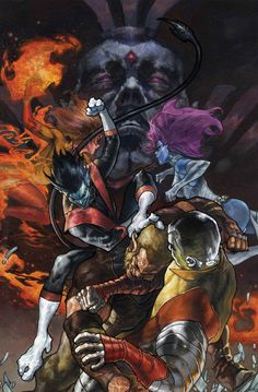 Wolverines #6 - Mr. Sinister, Colossus, Nightcrawler, and Mystique by Simone…