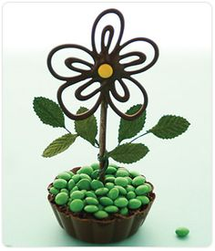 Daisy Mousse Cup