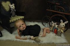 Reborn baby vampire and oddly sweet dolls.