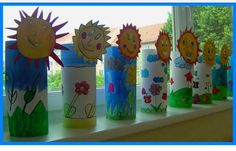 30 World Water Day Crafts - Preschool - Aluno On Bible Crafts For Kids, Christmas Crafts For Kids To Make, Summer Crafts, Art For Kids, Diy And Crafts, Preschool Art Activities, Toilet Paper Roll Crafts, Spring Art, Spring Time