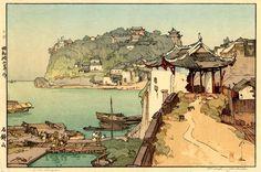 Sekishozan  by Hiroshi Yoshida, 1940