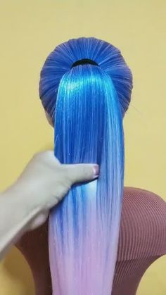 Step By Step Hairstyles, Braided Hairstyles Tutorials, Easy Hairstyles For Long Hair, Funky Hairstyles, Braids For Long Hair, Girl Hairstyles, Girls Hairdos, Pigtail Braids, Hair Ideas