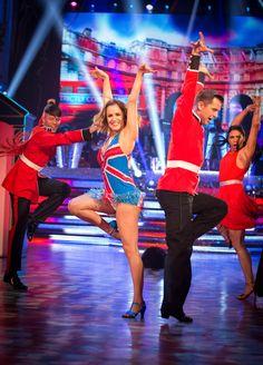 Strictly Come Dancing 2014: Week 8 - Caroline Flack and Pasha Kovalev