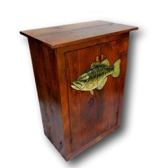 Custom Fish Cabinet, Bass Cabinet, Fish Furniture, Fisherman Decor, Lake House…