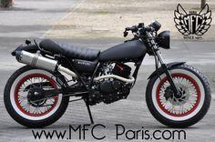 1 SUZUKI VANVAN VAN-VAN Black Japan. MFC Design - Préparation motos, peinture, design, tuning, Suzuki - Kawasaki