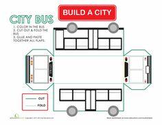 Worksheets: Build a City: Bus