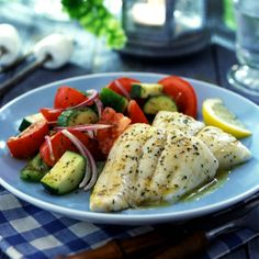 Mild, flaky tilapia, seasoned with a savory herb butter and baked to perfection.