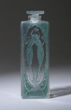 "R. LALIQUE ""Lepage"" perfume bottle, circ 1920 by pritzylove13"