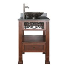 "View the Avanity NAPA-VS24-VE Napa 24"" Wood Vanity Set With Stone Top and Single Basin Undermount Sink at Build.com."