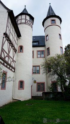 Snow White/Schneewittchen castle Spessart Museum, Lohr am Main, Germany #sheavesingermany