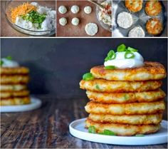 CHEESY LEFTOVER MASHED POTATO PANCAKES - Creative DIY Ideas