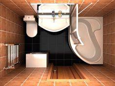 1 Wc Bathroom, Compact Bathroom, Small Space Bathroom, Tiny Bathrooms, Bathroom Plans, Yellow Bathrooms, Tiny House Bathroom, Bathroom Design Small, Bathroom Layout