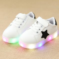 Chaussure Led Avec Étoile Bebe