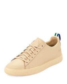 Puma Mens x Big Sean Clyde Leather Creeper Sneakers 23e65d19c