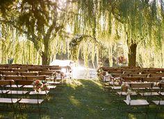 Romantic outdoor Napa wedding | Photo by Sylvie Gil | 100 Layer Cake