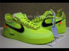 PK God Off White x Nike Air Force 1 Volt OW AF1 Lemon Yellow AO4606 700  Ready from CitySole ru ce445055c