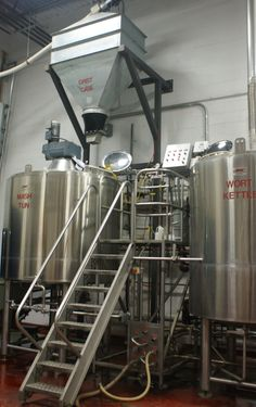 Our 9,000 square foot production facility houses all of our milling, brewing, cellaring, packaging, and warehouse operations. Our brewery includes a 20 barrel brewhouse fabricated by DME. This two-vessel brewhouse includes a mash/lauter tun and a brew kettle that is supported by cold and hot liquor tanks.