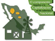 El componente Impulso a la Capitalización es de cobertura nacional. SAGARPA SAGARPAMX #SomosProductores