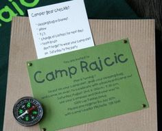 Birthday Party: Camping Theme (Part 2) - The TomKat Studio