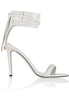 Leather sandals by: Jason Wu