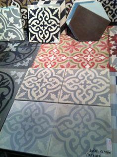 Marrakech kakel Moroccan Design, Marrakech, Floors, Tile Floor, Tiles, Texture, Kitchen, Crafts, Beauty
