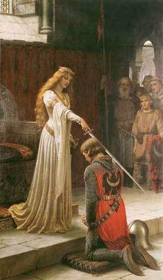 """Nombramiento de caballero. La caballería era un """"compendio de valores, creencias, un sistema de vida..."""" (Quintanilla, p. 12) relacionado con la nobleza"""