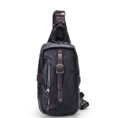 Men PU Black Business Casual Outdoor Shoulder Crossbody Bag  Worldwide delivery. Original best quality product for 70% of it's real price. Hurry up, buying it is extra profitable, because we have good production sources. 1 day products dispatch from warehouse. Fast & reliable shipment...