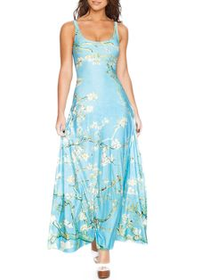 Almond Blossom Maxi Dress - LIMITED (AU $140AUD) by Black Milk Clothing - LARGE