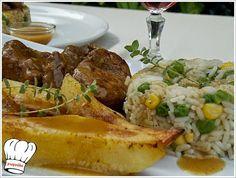 Ενα απο τα καλυτερα φαγητα ψαρονεφρι χοιρινο λεμονατο,μαγειρεμενο στην κατσαρολα με απλα υλικα που δενουν απολυτα μεταξυ τους,δινοντας πραγματικα τελειο γευστικο αποτελεσμα. Ενα εξαιρετικο φαγητο να σταθει σε ολες τις περιστασεις που εσεις επιθυμειτε,και να σας βγαλει ασπροπροσωπους. <strong>Δοκιμαστε το και απολαυστε το!!!</strong> My Recipes, Cooking Recipes, Recipe Collection, Baked Potato, Mashed Potatoes, Baking, Ethnic Recipes, Greek, Food