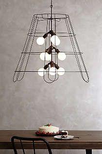 $1,000....Anthropologie - Large Conduit Pendant Lamp