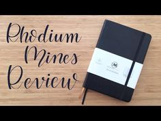 (4) Review | Rhodium Mines Notebook - YouTube  #journal #notebook #bujo #bulletjournaling #planner