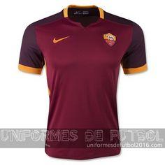 4f9540450af00 Venta de Jersey local para uniforme del Tailandia AS Roma 2015-16 Cheap  Football Shirts