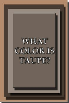 what color is taupe - 400×600