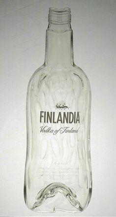 Melted glass bottles using a kiln awesome diy using glass bottles jars pinterest - How do you melt glass bottles ...