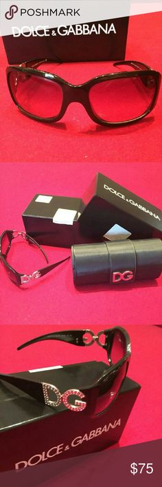 Dolce & Gabanna sunglasses Authentic. Lightly worn and includes all original accessories - hard case and box with paperwork.  DG6018  501/87  68/13  Excellent used condition. Just don't get worn anymore. Dolce & Gabbana Accessories Sunglasses