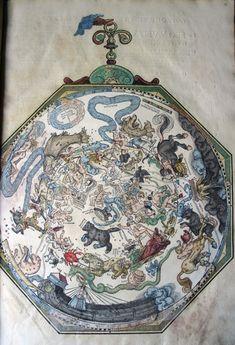 The Ptolemaic constellations in Apianus, 1540