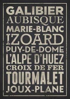 Tour De France Climbs