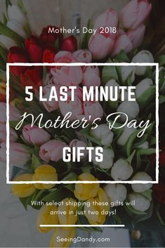 These gifts are all perfect for Mother's Day and will arrive in just 2 days using Amazon Prime! Think succulents, Kindles, jewelry and more! #shopping #giftideas #mothersday #gifts #amazonprime #succulents #jewelry