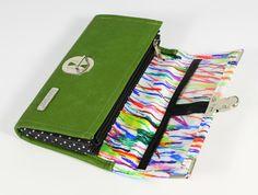 First Line Purse no.350 MYWO Line, Continental Wallet, Purses, Bags, Design, Handbags, Handbags, Fishing Line